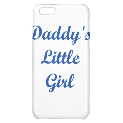 Daddy's Little Girl iPhone 5C Covers