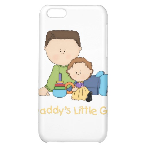 Daddy's Little Girl iPhone 5C Cases