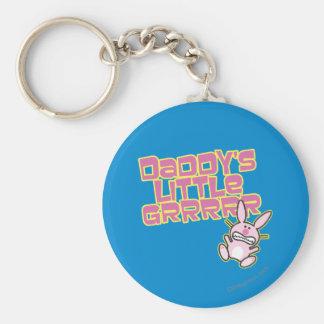Daddy's Little Girl Key Ring