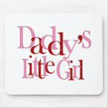 Daddy's little girl mousemats