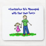 Daddy's Little Girl Mousepad (Blonde)