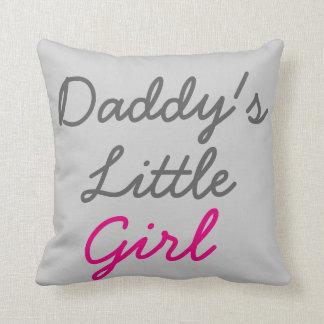 Daddy's Little Girl Pillow Cushions