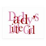 Daddy's Little Girl Postcard