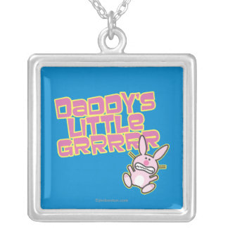 Daddy's Little Girl Silver Plated Necklace