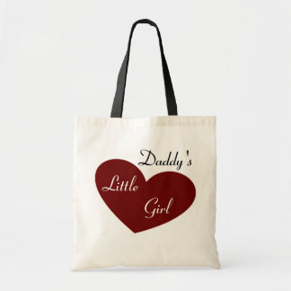 Daddy's Little Girl Tote Budget Tote Bag