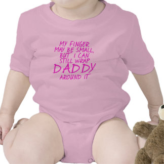 Daddy's Little Girl Baby Bodysuits
