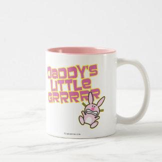 Daddy's Little Girl Two-Tone Coffee Mug
