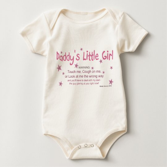Daddy's Little Girl - Warning - Shirt
