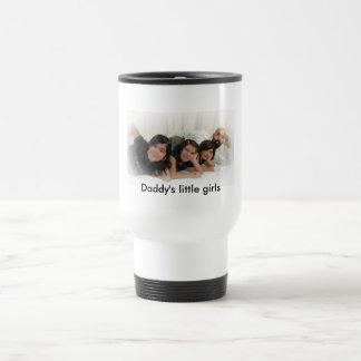 Daddys little girls stainless steel travel mug