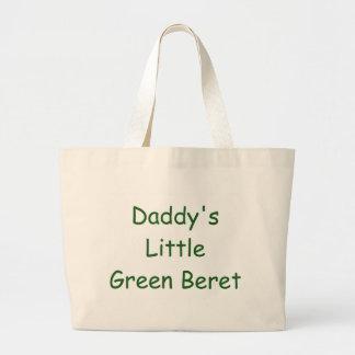 Daddy's Little Green Beret Bags