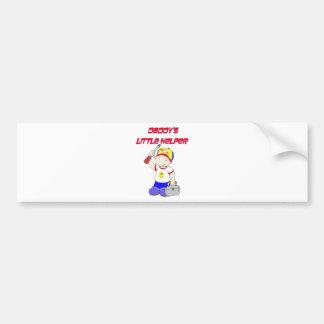 Daddy's Little Helper Bumper Sticker