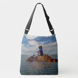Daddy's Little Helper,_Large_Cross_Body_Bag Tote Bag