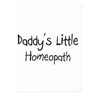 Daddy's Little Homeopath Postcards