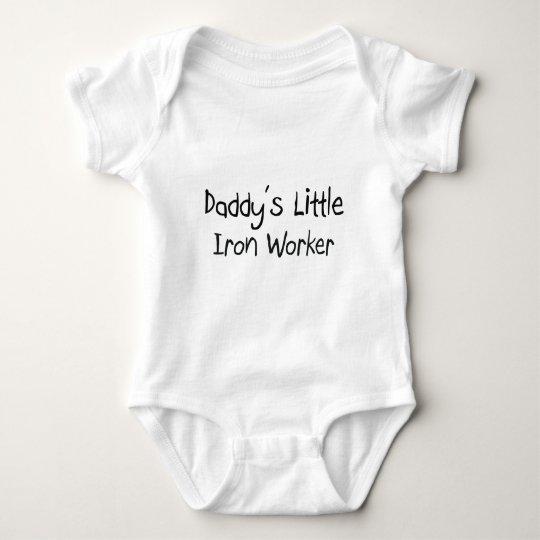 Daddy's Little Iron Worker Baby Bodysuit