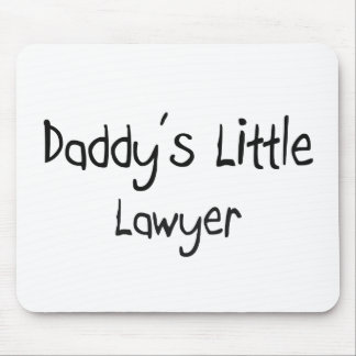 Daddy's Little Lawyer Mouse Pad