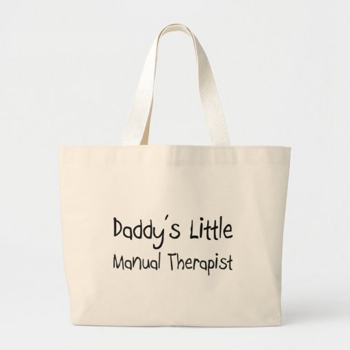 Daddy's Little Manual Therapist Bags