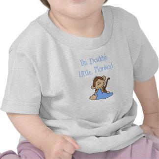 Daddy's Little Monkey Tee Shirts