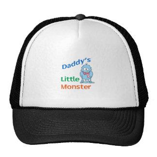 DADDYS LITTLE MONSTER TRUCKER HAT