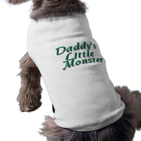 Daddy's Little Monster Shirt
