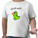 Daddy's Little Monster Tee Shirts
