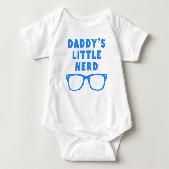 Daddy's Little Nerd Baby Bodysuit