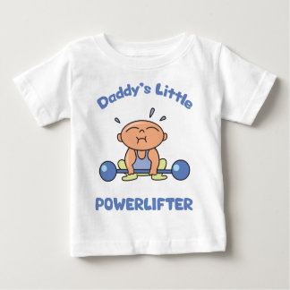 Daddys Little Powerlifter Kids Sport Powerlifting Baby T-Shirt