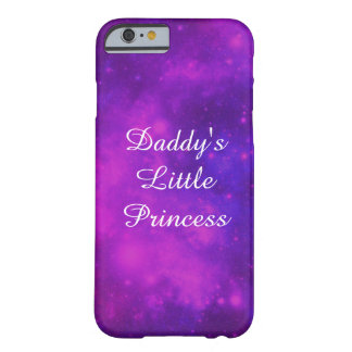 Daddy's Little Princess Barely There iPhone 6 Case