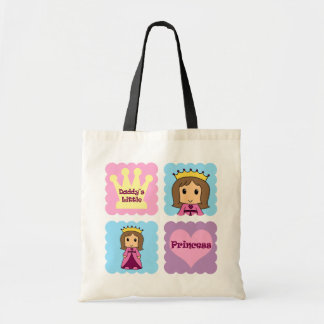 Daddy's Little Princess Budget Tote Bag