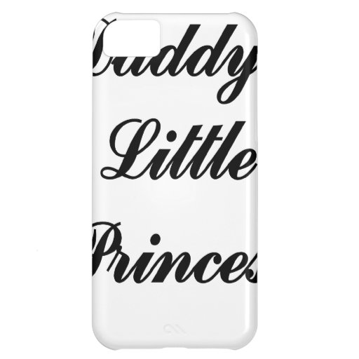 Daddys Little Princess Case For iPhone 5C