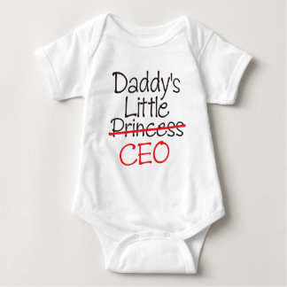 Daddy's Little Princess - Daddy's Little CEO Baby Bodysuit