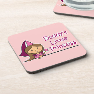 Daddy's Little Princess Drink Coasters