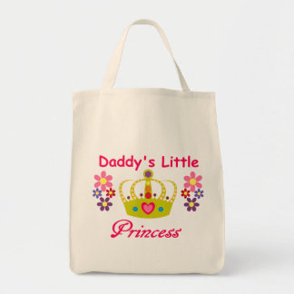 Daddy's Little Princess Grocery Tote Grocery Tote Bag