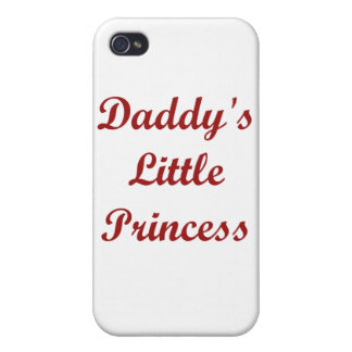 Daddy's Little Princess iPhone 4 Covers