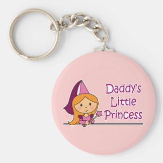 Daddy's Little Princess Key Ring
