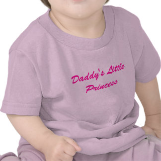 Daddy's Little Princess T Shirts