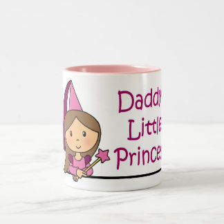 Daddy's Little Princess Two-Tone Coffee Mug