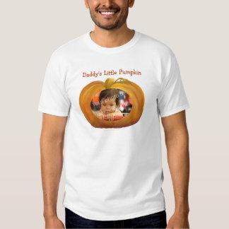 Daddy's Little Pumpkin Custom Photo Shirt Template