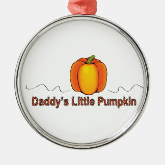 Daddy's Little Pumpkin Ornament