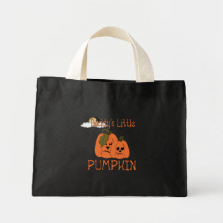 Daddy's Little Pumpkin Trick-Or-Treat Tote Bag