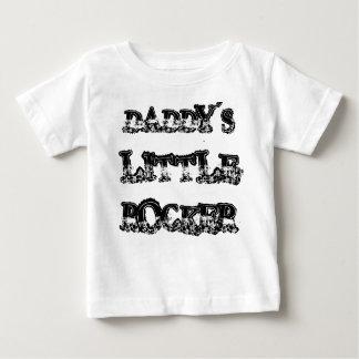 DADDY'S LITTLE ROCKER BABY T-Shirt