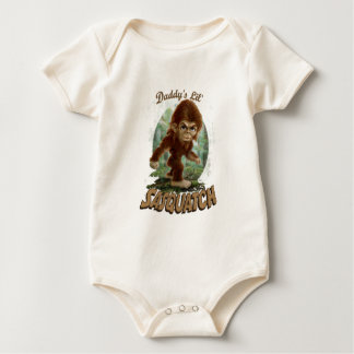 Daddy's little Sasquatch Baby Bodysuit