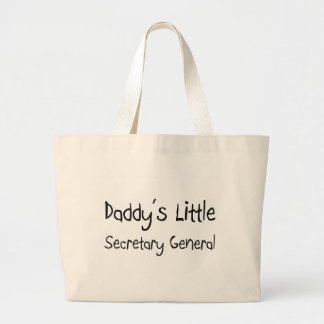 Daddy's Little Secretary General Tote Bags