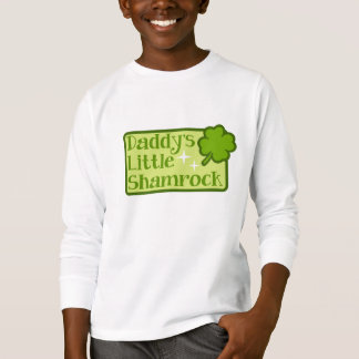 Daddy's Little Shamrock Kid's T-shirt