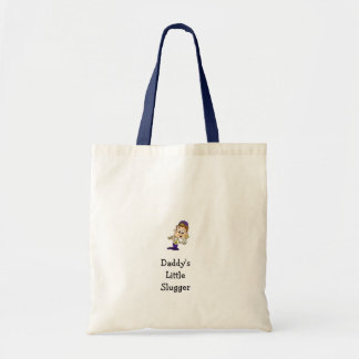 Daddy's Little Slugger Tote Bag