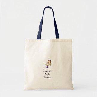 Daddy's Little Slugger Tote Bag