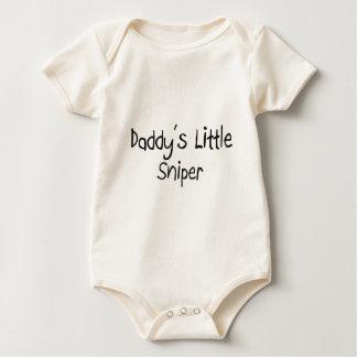 Daddy's Little Sniper Baby Bodysuit