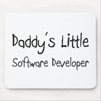 Daddy's Little Software Developer Mouse Pads