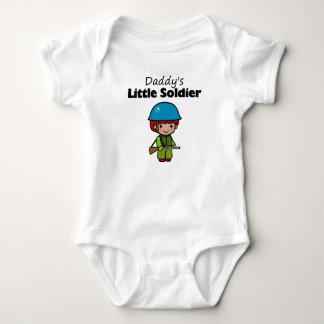 Daddy's Little Soldier Baby Bodysuit