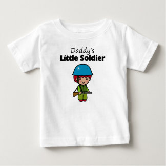 Daddy's Little Soldier T Shirts