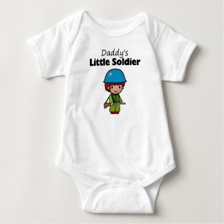 Daddy's Little Soldier Tee Shirt